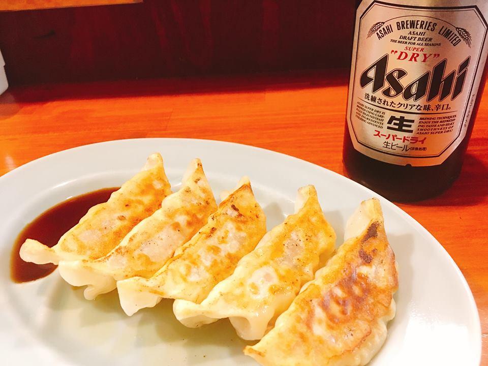 なおじ特製焼餃子