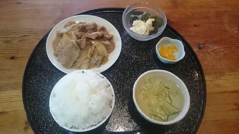 なおじ新大前店 生姜焼き定食