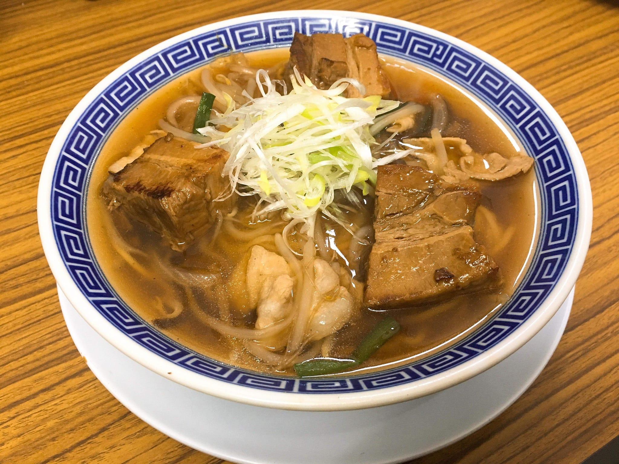 吉田店 あんかけ角煮ラーメン