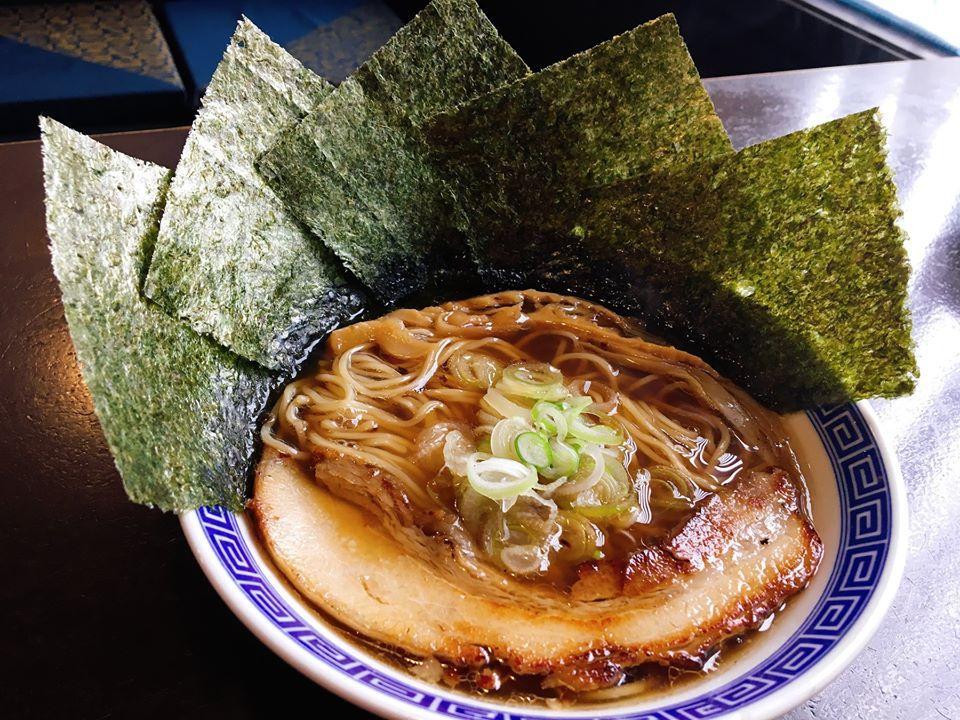 【総本店】熟成醤油海苔ラーメン