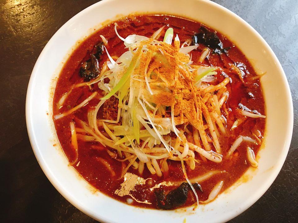 【総本店】新潟一辛麺!「赤オロチ」